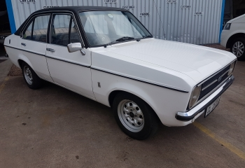 FORD ESCORT MK2 1.6 GL 4 DOOR WHITE FOR SALE