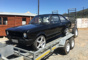 FORD ESCORT MK2 2 DOOR BLACK