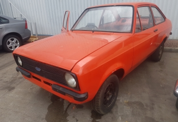 FORD ESCORT MK2 ROLLING SHELL - FOR SALE