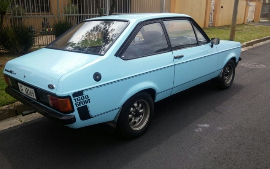 escort 1600 sport for sale