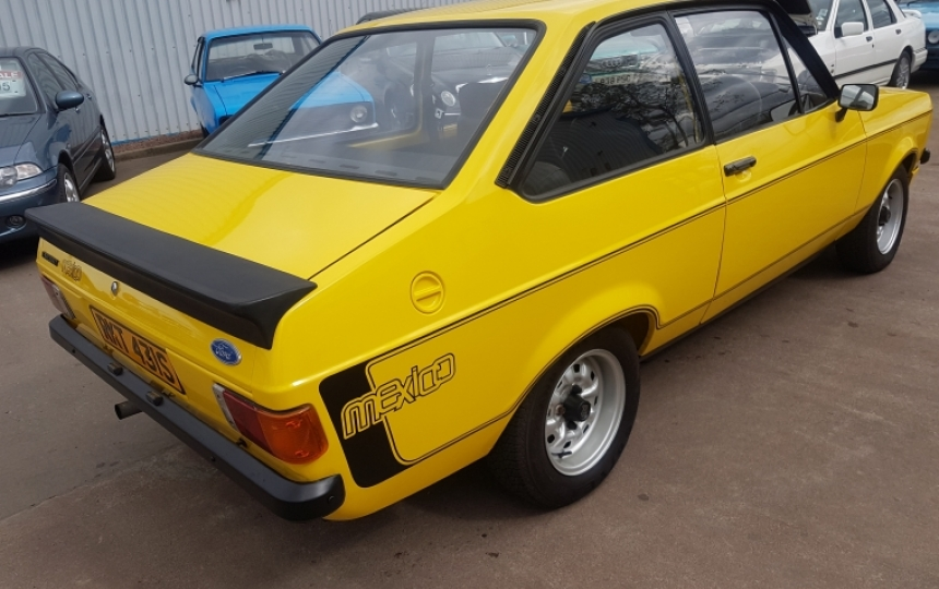 IT HAD TWO UK OWNERS THEN SPENT SOME TIME IN NORTHERN IRELAND WHERE I  BELIEVE IT HAD A FURTHER TWO OWNERS. ITS VERY VERY NICE INDEED AND IS VERY  RARE IN ...