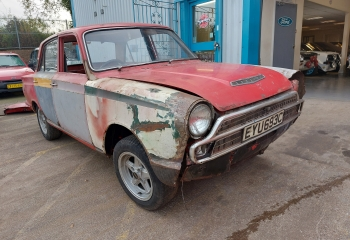 Ford Cortina MK1 GT Project